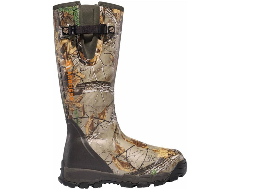 "LaCrosse Alphaburly Pro 18"" Waterproof 1000 Gram Insulated Hunting Boots Rubber Clad Ne..."