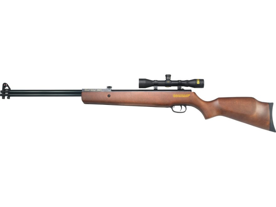 Beeman Double Barrel DC Air Rifle 177 & 22 Caliber Pellet Matte Barrel with 4x 32mm Scope