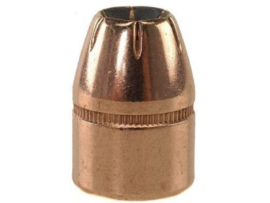 Factory Second Bullets 44 Caliber (430 Diameter) 200 Grain Jacketed Hollow Point Box of...