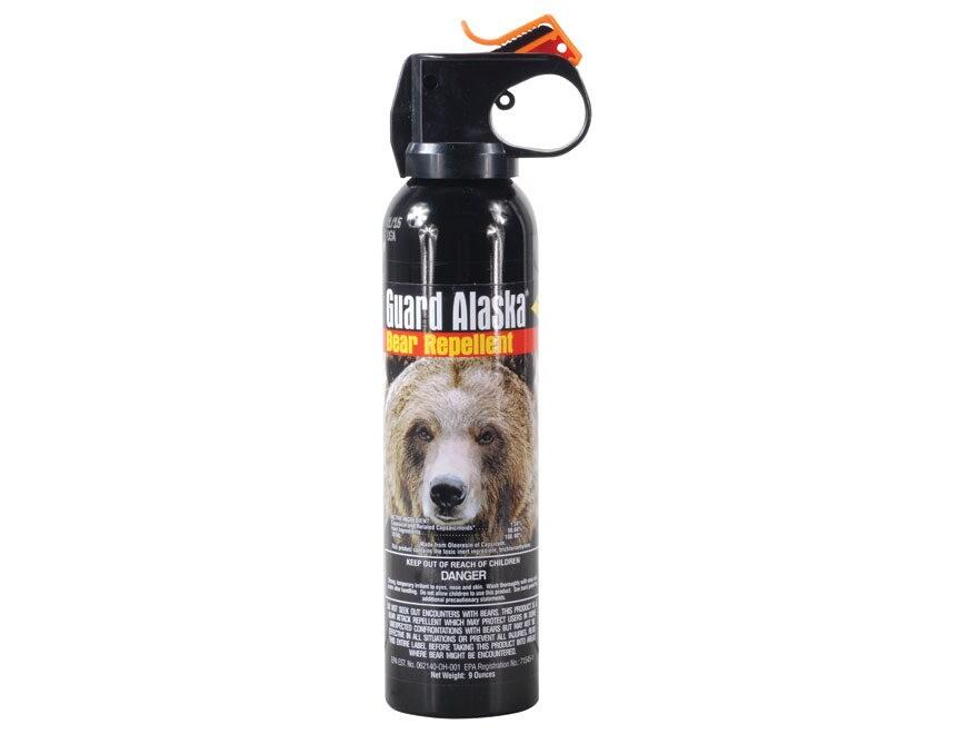 Guard Alaska Bear Spray 9 oz Aerosol