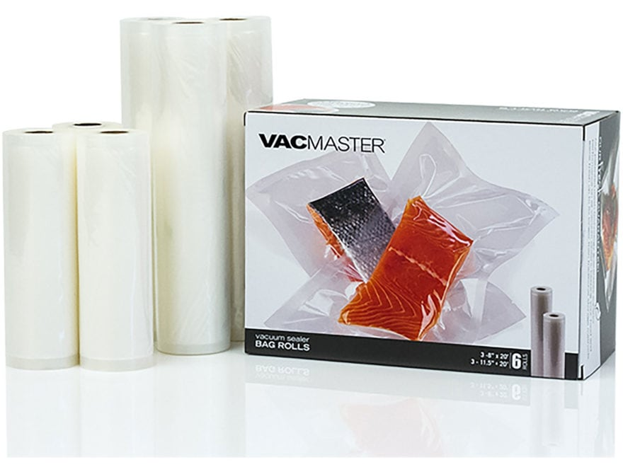 VacMaster Vacuum Sealer Bag Roll Combo Pack of 6