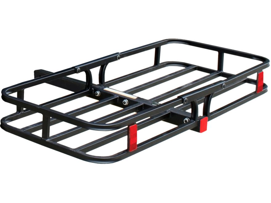 """Tow Tuff Compact Cargo Carrier 53"""" x 19"""" Steel Black"""