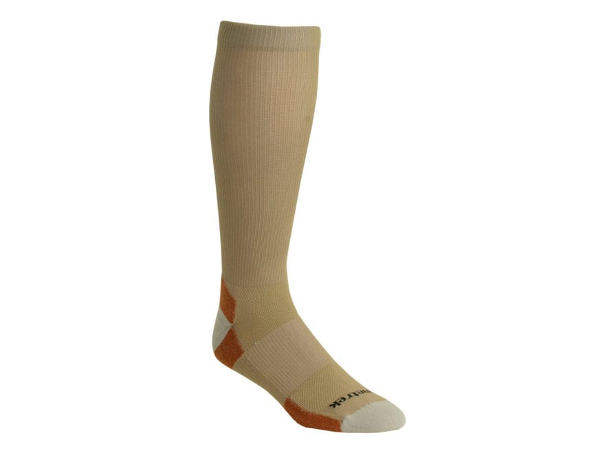 Kenetrek Men's Ultimate Liner Over the Calf Socks Synthetic Blend Tan 1 Pair