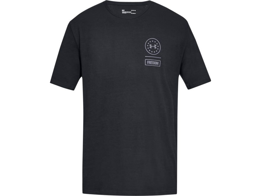 Under Armour Men's UA Freedom Rattle T-Shirt Short Sleeve Charged Cotton