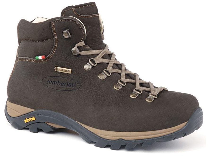 "Zamberlan 320 Trail Lite Evo GTX 5"" Waterproof Hiking Boots Gore-Tex Nubuck Leather Men's"