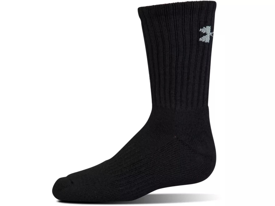 726b2a5609d Under Armour Men's UA Charged Cotton 2.0 Crew Socks Synthetic Blend 6 Pairs