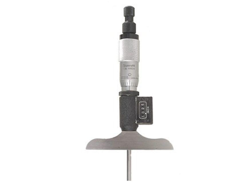 "Starrett Digital Depth Micrometer 6"""