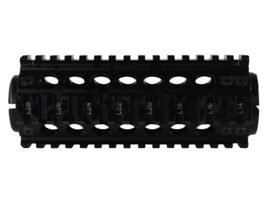 Midwest Industries 2-Piece Handguard Quad Rail DPMS LR-308 Sportical Carbine Length Alu...