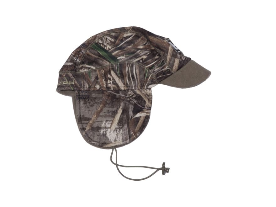 Banded Atchafalaya Softshell Brimmed Beanie Polyester