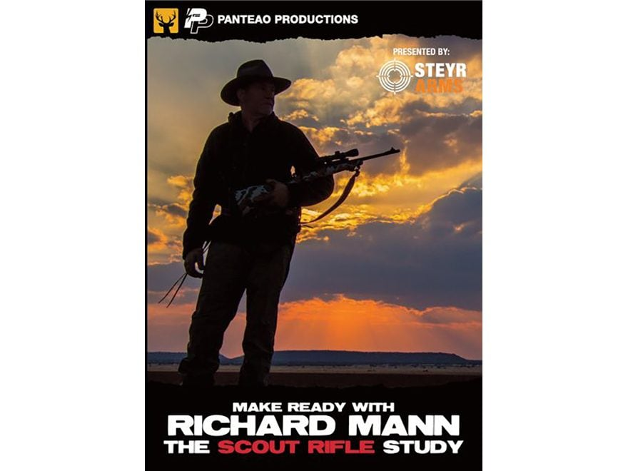 "Panteao ""Make Ready with Richard Mann: The Scout Rifle Study"" DVD"