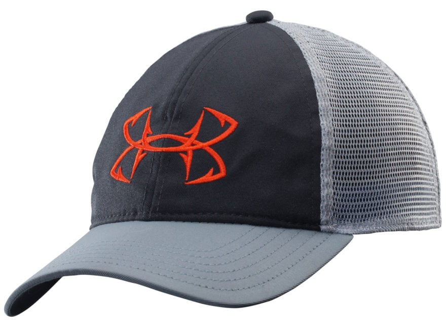 best service 55628 95bf0 Under Armour Fish Hook Mesh Back Cap Polyester Graphite