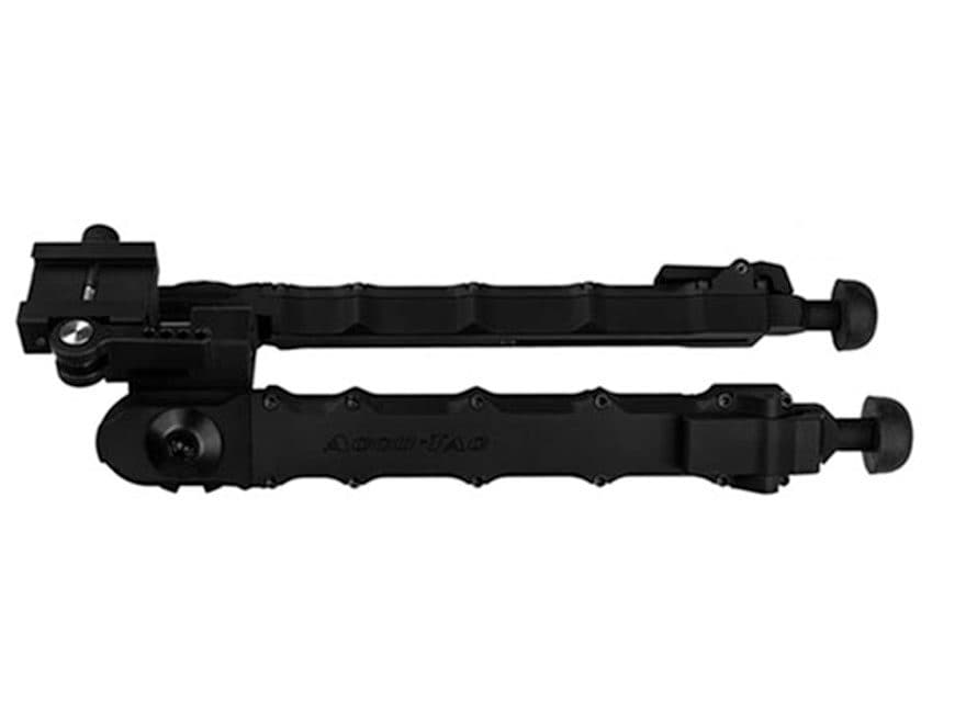 "Accu-Tac LR-10 Large Rifle Bipod 7"" to 11-1/2"" Aluminum Black"