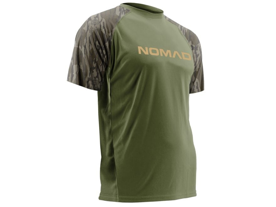 Nomad Men's Raglan T-Shirt Short Sleeve