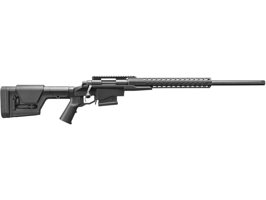 "Remington 700 PCR Chassis Rifle 260 Remington 24"" Heavy Barrel Black Squaredrop Handguard"