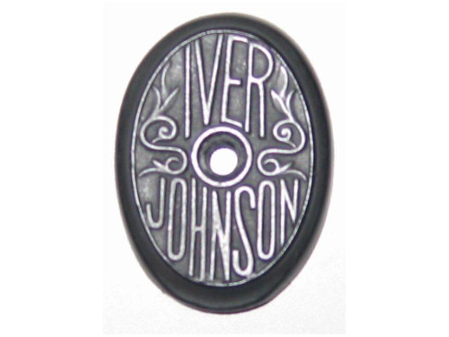 Vintage Gun Grip Cap Iver Johnson Skeeter Polymer Black