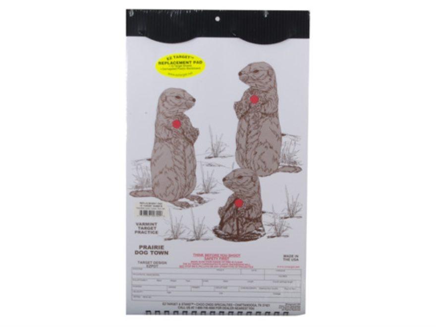 "EZ Target Prairie Dog Town Replacement Pad Target 11"" x 17"" Paper Pack of 15"
