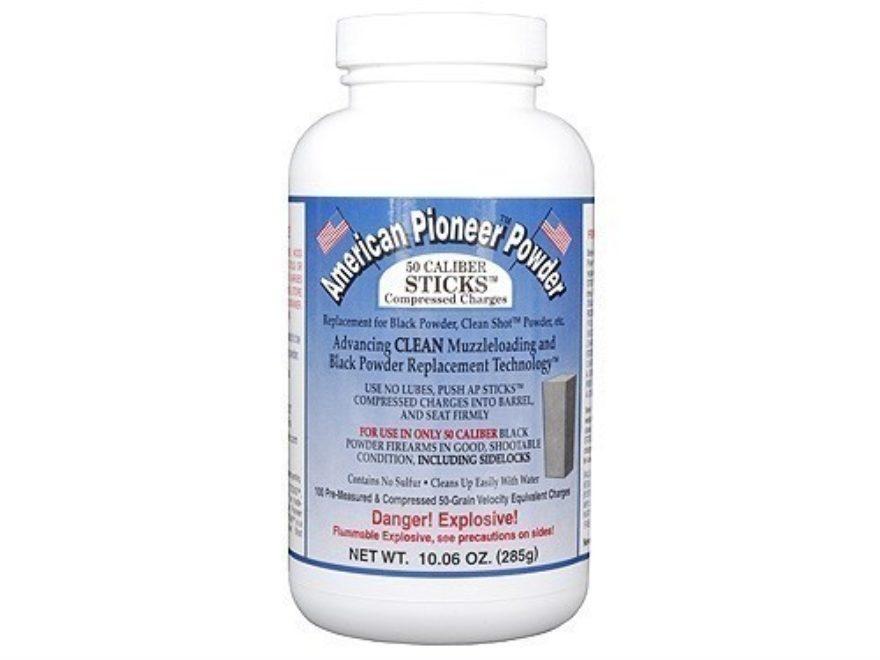 American Pioneer Black Powder Substitute 50 Caliber 50 Grain Sticks Package of 100