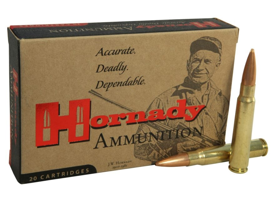 Hornady Vintage Match Ammunition 8x57mm JS Mauser (323 Diameter) 196 Grain Hollow Point...