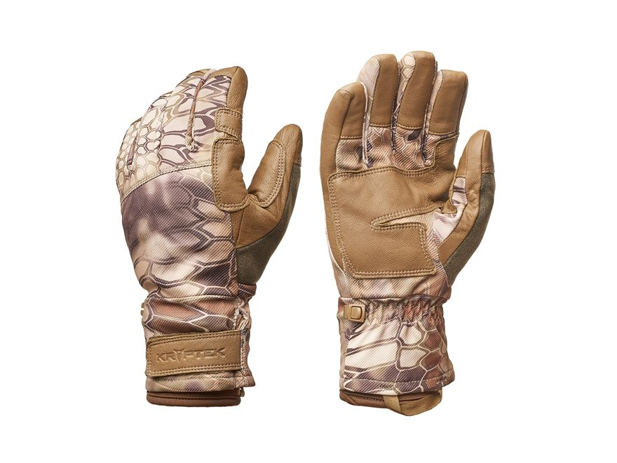 Kryptek Gyes Waterproof Windproof Gloves Polyester/Leather
