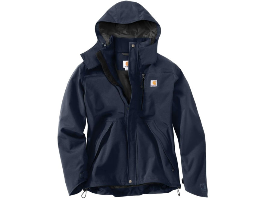 Carhartt Men's Shoreline Waterproof Rain Jacket Nylon
