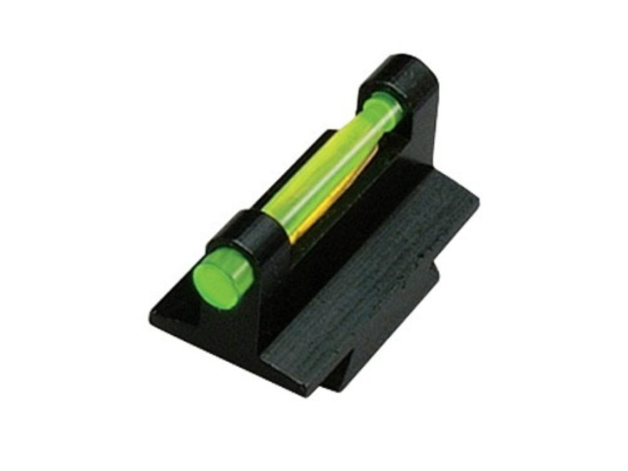 "HIVIZ Muzzleloader & Rifle Front Sight Height .375"" Dovetail Steel Fiber Optic with 6 I..."