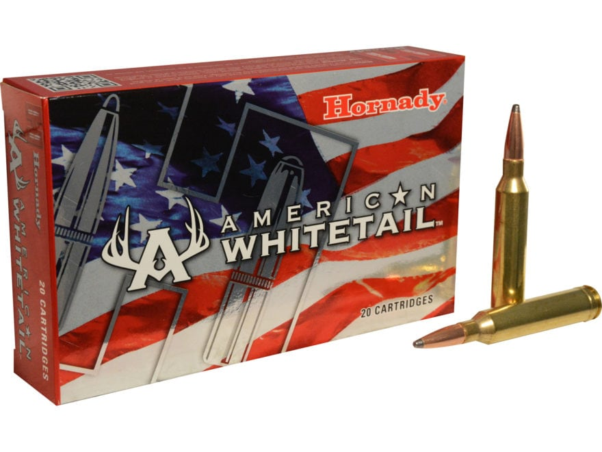 Hornady American Whitetail Ammunition 7mm Remington Magnum 154 Grain Interlock Spire Po...