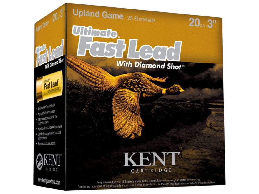 "Kent Cartridge Ultimate Fast Lead Diamond Shot Upland Ammunition 20 Gauge 3"" 1-1/4 oz #..."