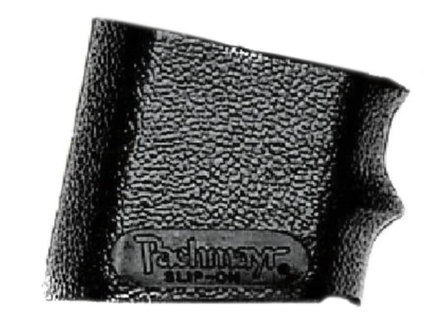 Pachmayr Slip-On Grip Sleeve with Finger Grooves Rubber Black