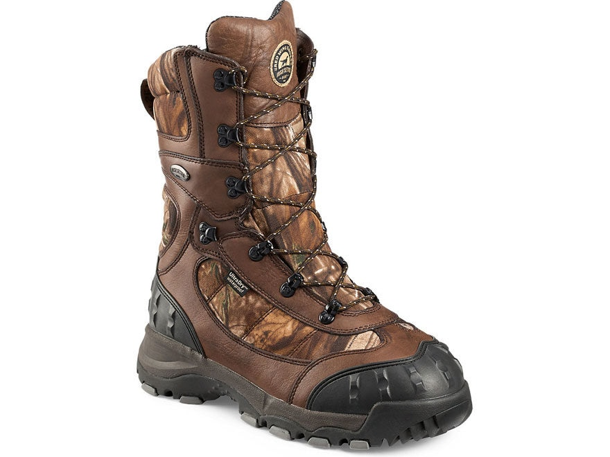 "Irish Setter Snow Claw XT 12"" Waterproof 2000 Gram Insulated Hunting Boots Leather and ..."