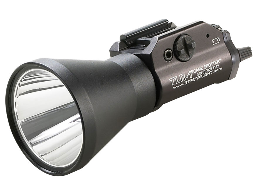 Streamlight TLR-1 Game Spotter Weapon Light Green LED with 2 CR123A Batteries Fits Pica...