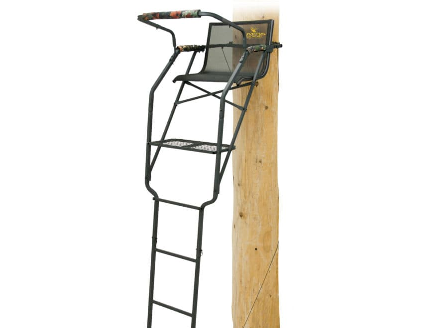 Rivers Edge Relax Wide Single Ladder Treestand Steel