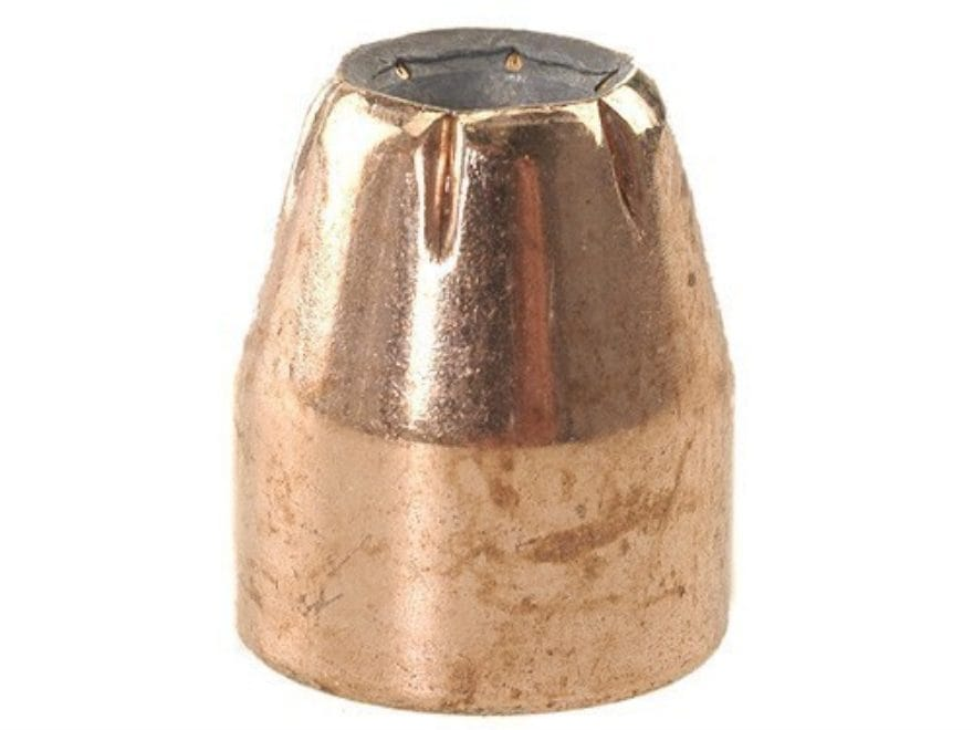 Factory Second Bullets 45 Caliber (451 Diameter) 185 Grain Jacketed Hollow Point Box of...