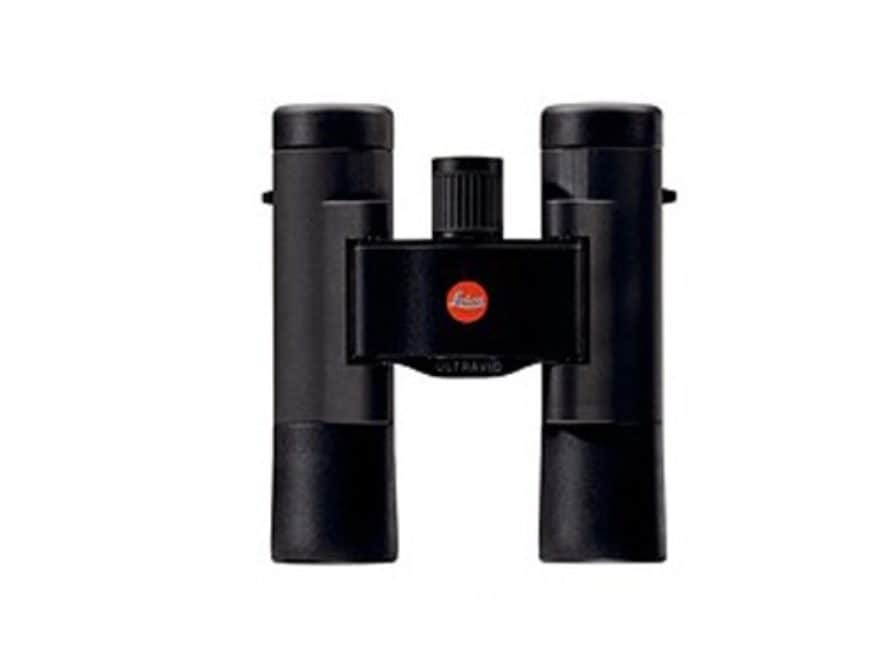 Leica Ultravid Compact Binocular 10x 25mm Roof Prism Rubber Armored Black