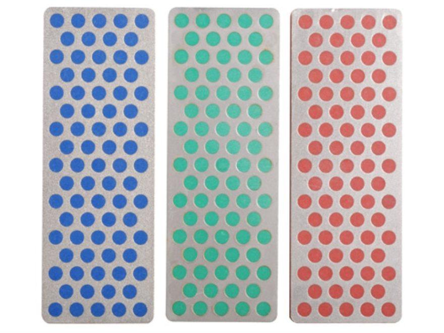DMT Sharpeners Diamond Whetstone 70mm Three Stone Kit Coarse, Fine, Extra-Fine