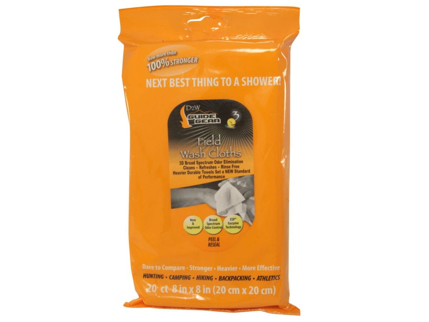 Dead Down Wind e3 Scent Elimination Field Wipes Pack of 20