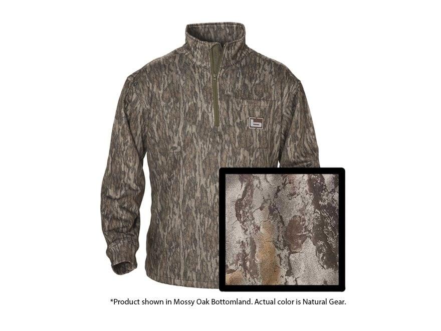 Banded Men's Tec Fleece 1/4 Zip Pullover Long Sleeve Polyester