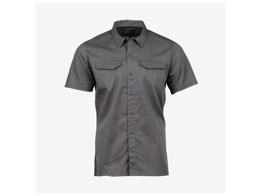 Magpul Men's Work Button-Up Shirt Short Sleeve Polyester