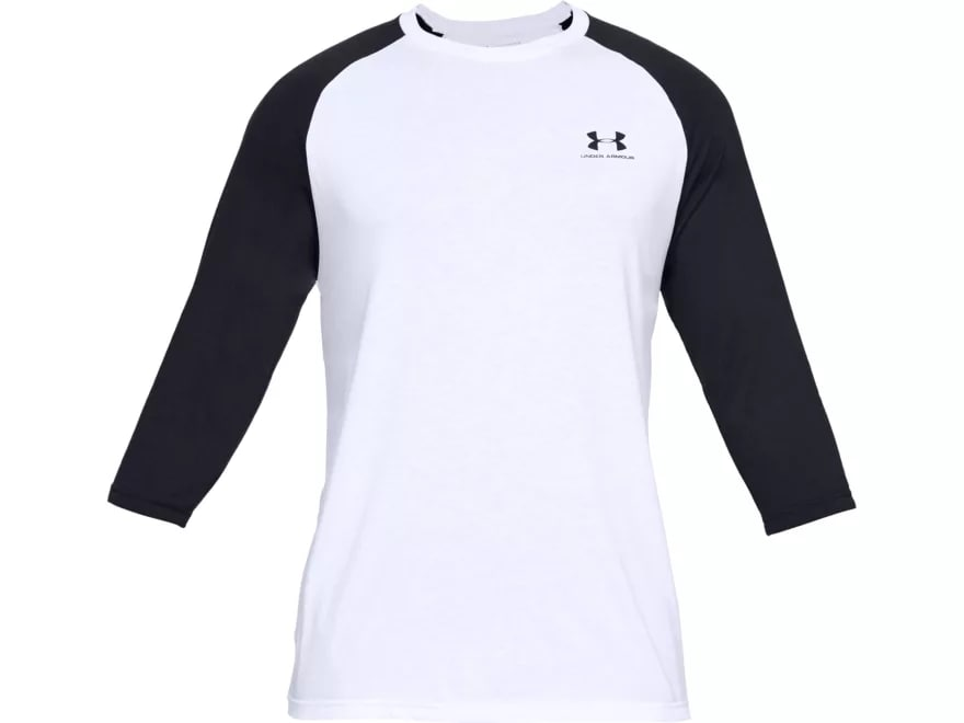 06e6b4f7 Under Armour Men's UA Sportstyle Left Chest 3/4 Sleeve T-Shirt Charged  Cotton