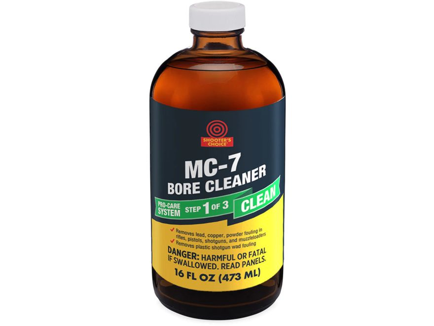 Shooters Choice MC 7 Firearms Bore Cleaning Solvent Liquid