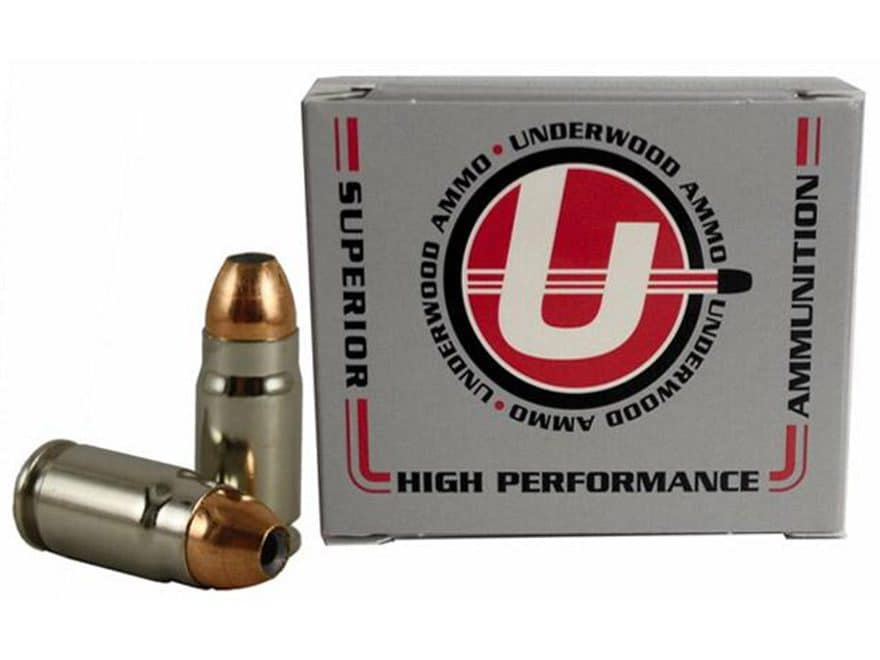 Underwood Ammunition 357 Sig 124 Grain Jacketed Hollow Point Box of 20