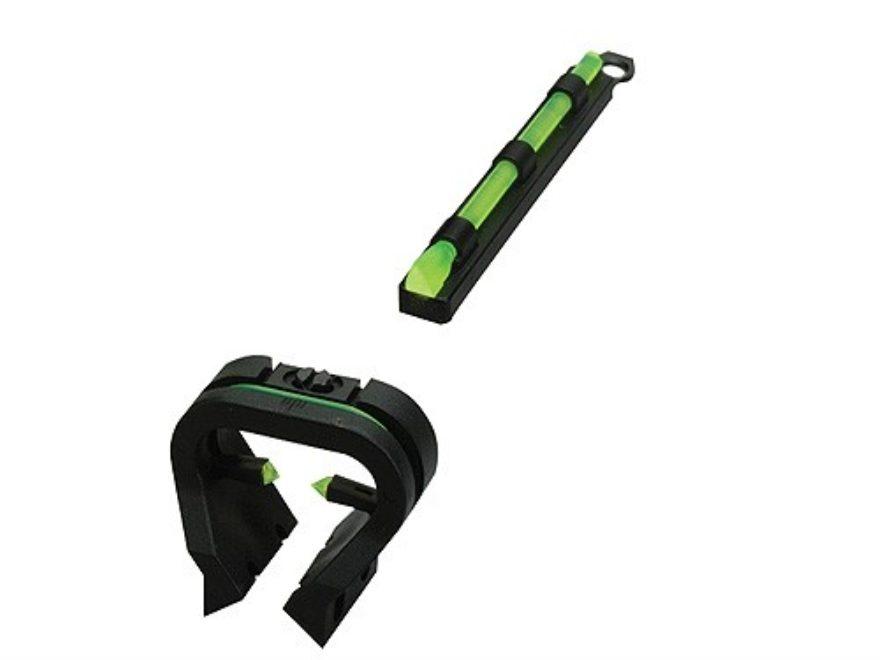 HIVIZ TriViz Turkey Sight Set for Shotguns with Vent Rib & Removable Front Bead Fiber O...