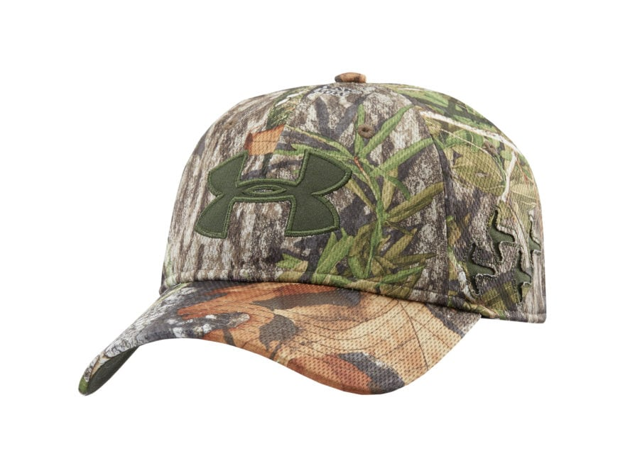 24938b3ce6a ... italy under armour ua camo turkey trax stretchfit cap polyester mossy  oak obsession camo ea348 09ec1