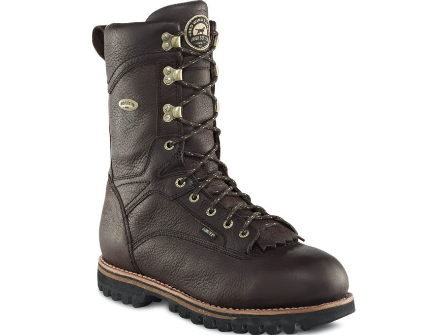 """Irish Setter Elk Tracker 12"""" GORE-TEX Insulated Hunting Boots Leather Men's"""
