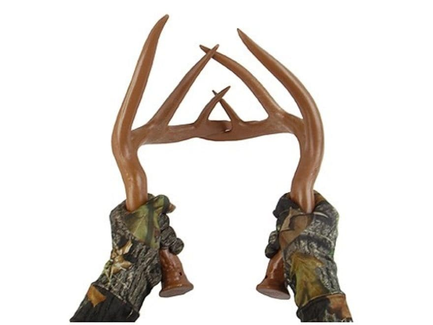 Primos Fightin' Horns Synthetic Whitetail Rattle Antlers Deer Calls