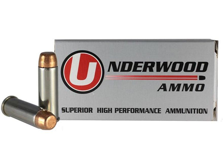Underwood Ammunition 44 Remington Magnum 245 Grain Full Metal Jacket Box of 50