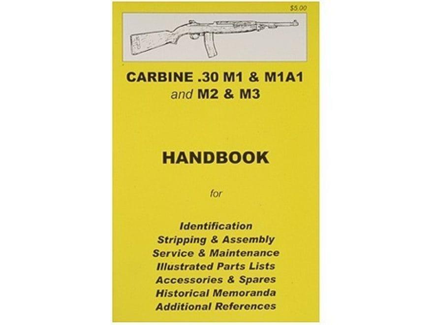 .30 M1 Carbine Handbook M Carbine Schematic on