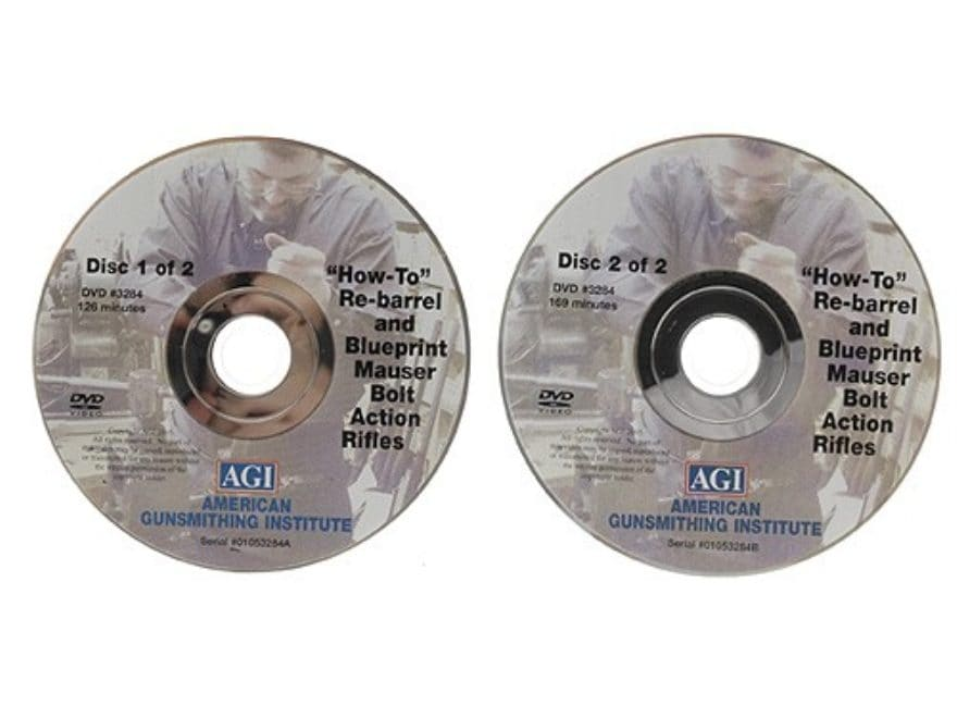 "American Gunsmithing Institute (AGI) Video ""How to Rebarrel, Tune and Blueprint Militar..."