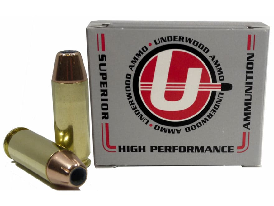 Underwood Ammunition 45 Winchester Magnum 230 Grain Hornady XTP Jacketed Hollow Point B...