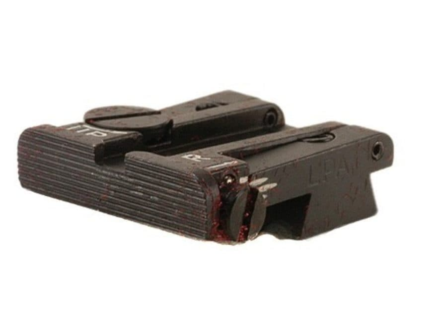 LPA TPU Target Rear Sight Sig Sauer P220, P226, P228, P229 Steel Blue