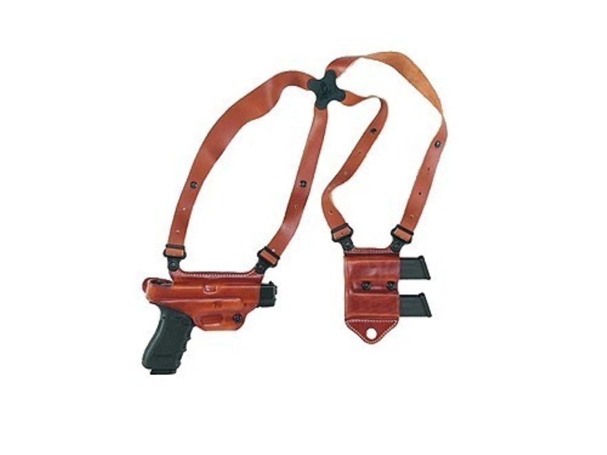 Galco Miami Clic 2 Shoulder Holster System Right Hand Glock 17 19